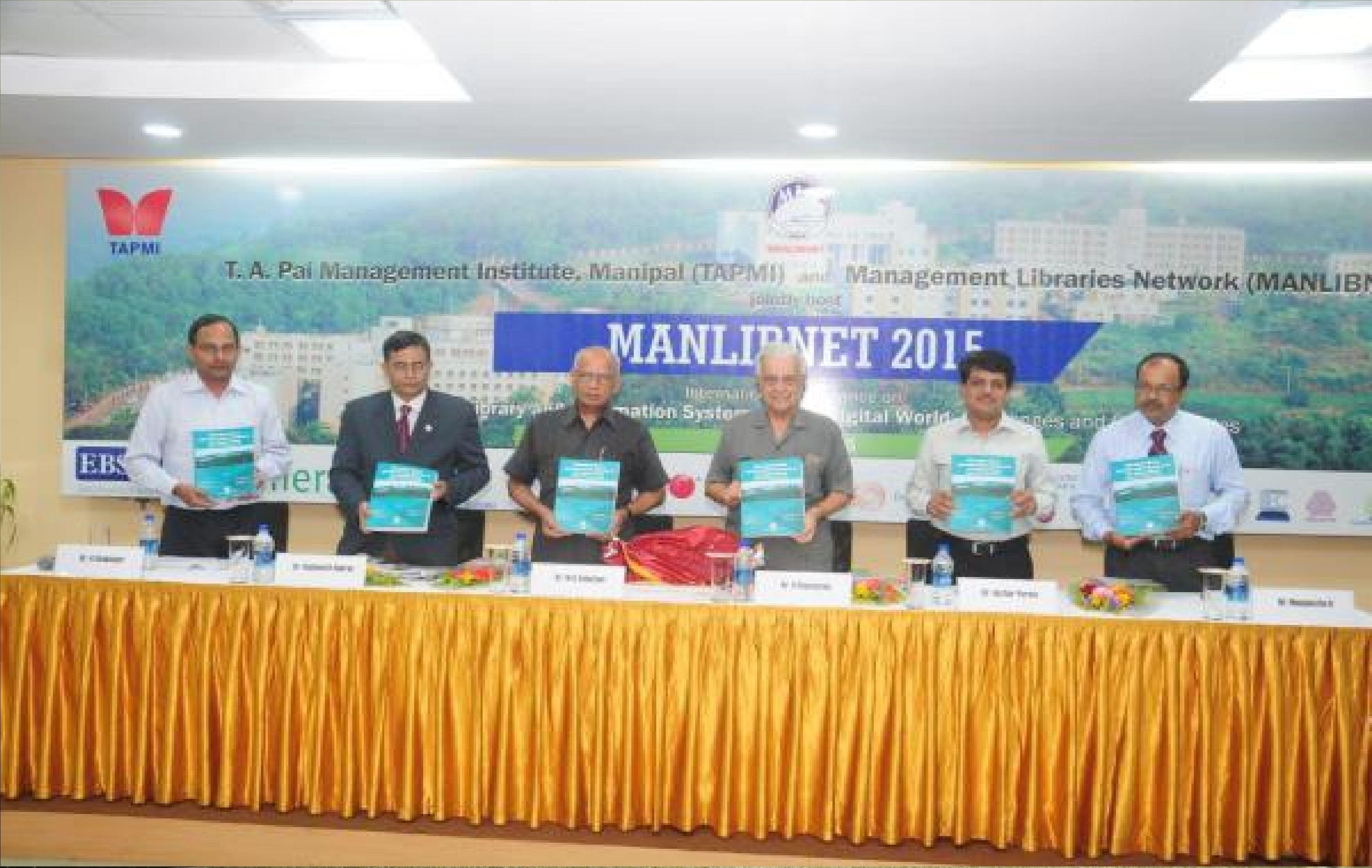 MANLIBNET 2015 @ TAPMI Manipal
