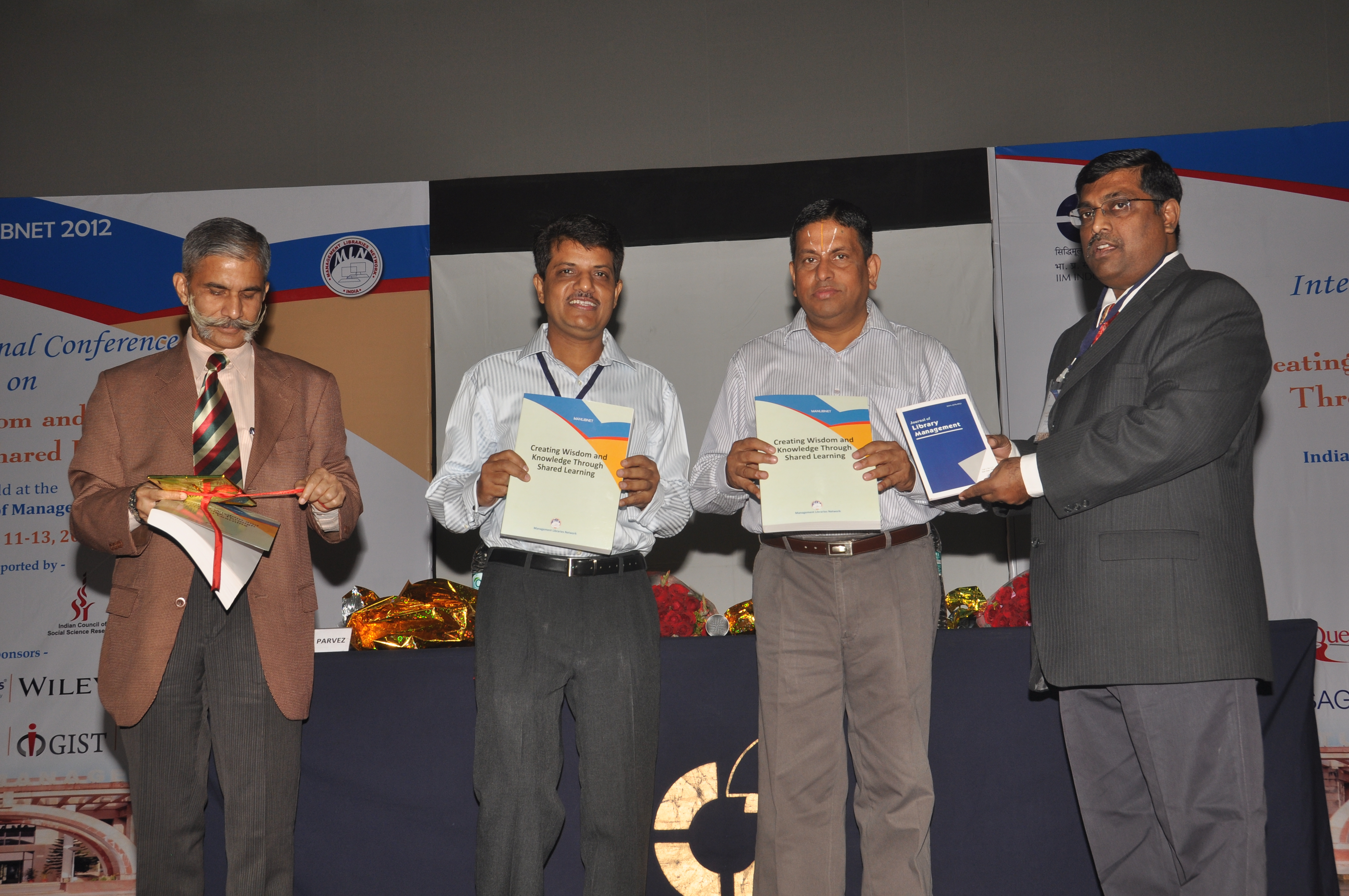 MANLIBNET 2012 @ IIM Indore
